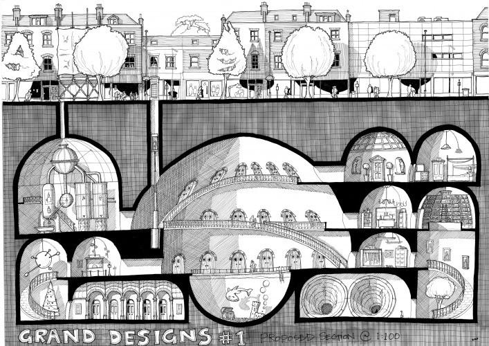 Grand Designs #1: Under Islington, by Daniel Fennings.