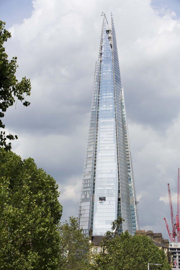 The Shard, London, UK Designed by Renzo Piano. Image courtesy Design Museum