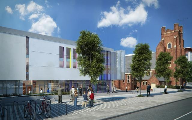 Streatham Hub Leisure Development Tops Out Londonist