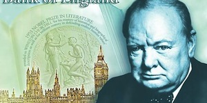 Churchill And Westminster To Feature On New Five Pound Note
