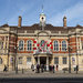 Battersea Old Town Hall. It is now the home of the Battersea Arts Centre.