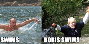 Boris Johnson And Vladimir Putin: Masters Of The Publicity Shot