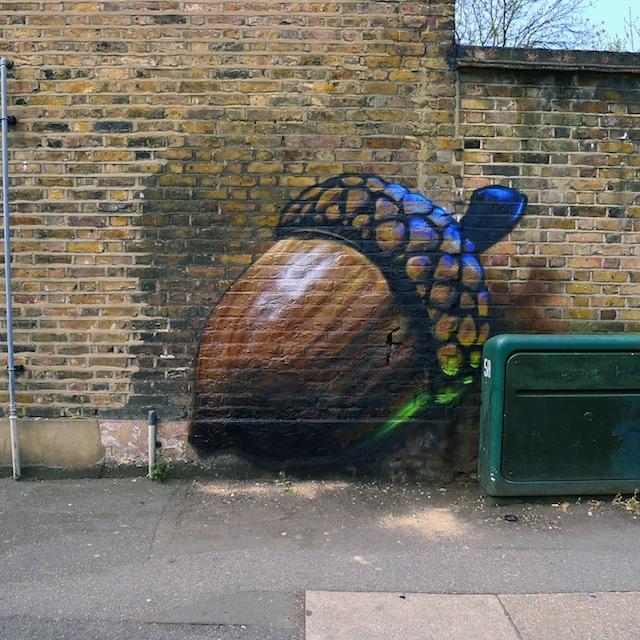 Boe and Irony nut, Tottenham