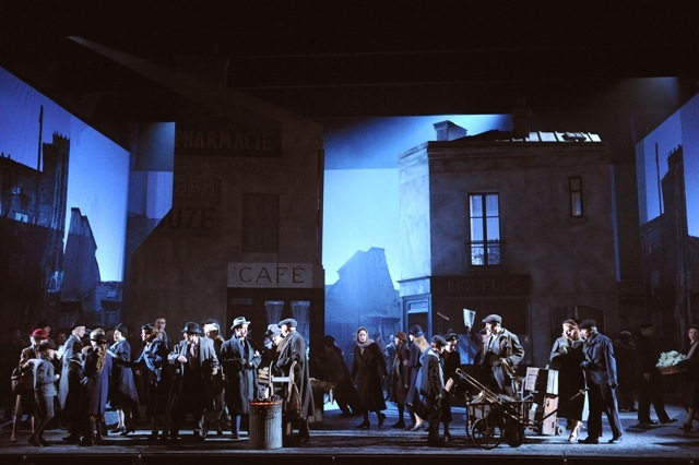 Postcard-perfect: La Boheme At English National Opera