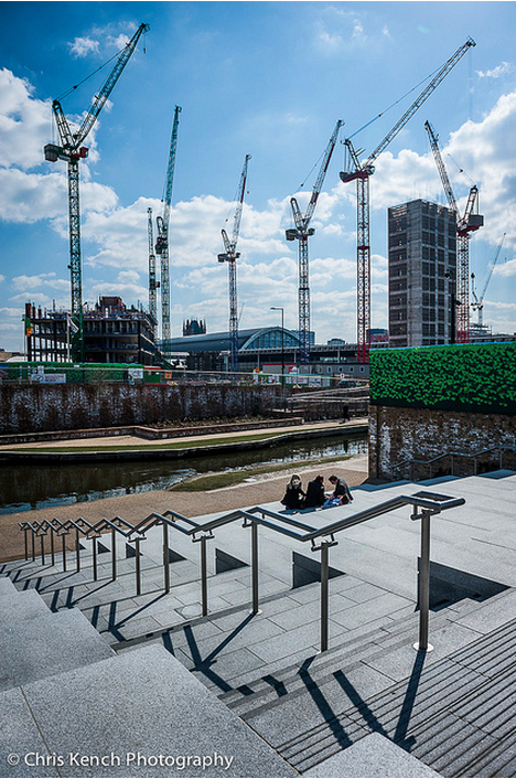 Granary Square by Chris Kench