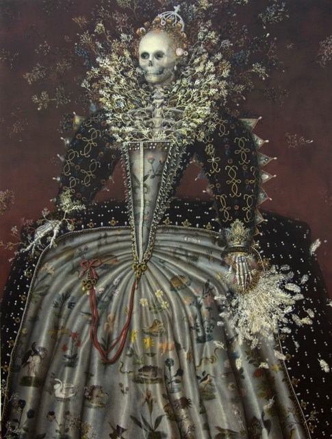 Haruko Maeda, Heartbeat of the Death - Queen Elizabeth the First.  Courtesy All Visual Arts