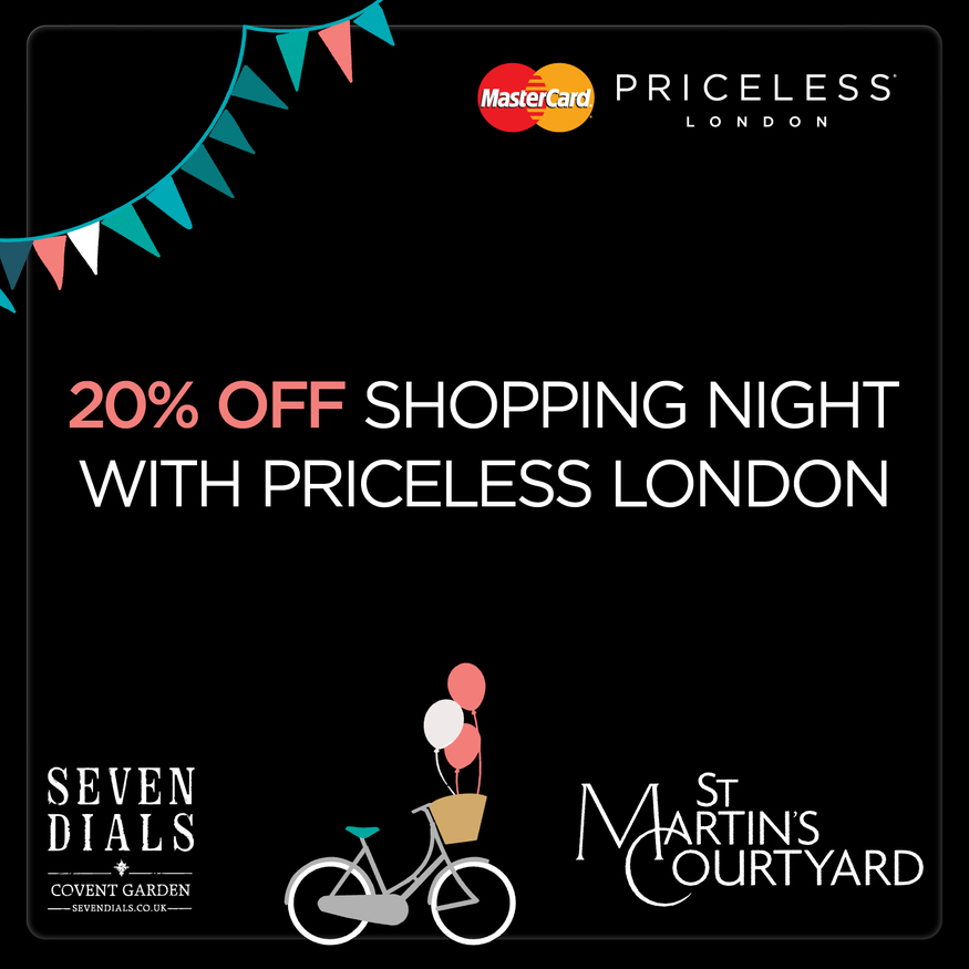 Get Shop-Happy At A 20% Off London Shopping Night