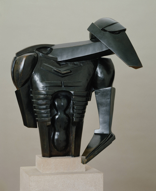 Sir Jacob Epstein Torso in Metal from 'The Rock Drill' 1913–14 © The estate of Sir Jacob Epstein