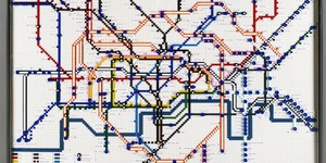 Video: LEGO Tube Maps Unveiled