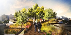 New Garden Bridge For Thames, By Olympic Cauldron Designer