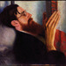 Dora Carrington Lytton Strachey 1916. Image courtesy National Portrait Gallery.