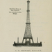 The winning design, which was partially built. 366 metres tall, with a hotel at first floor level.