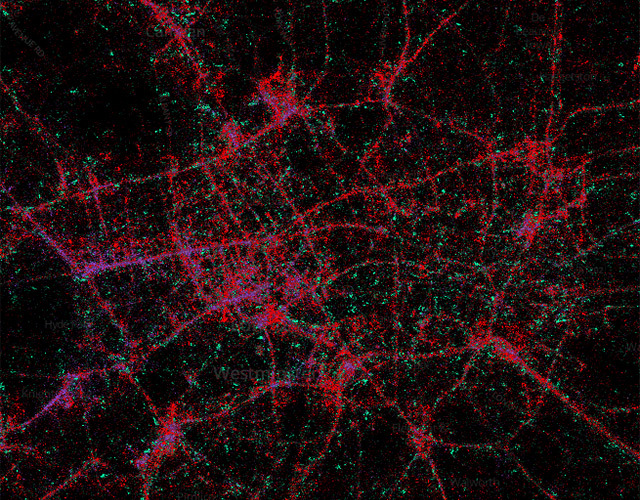 Twitter Map Reveals London Smartphone Usage