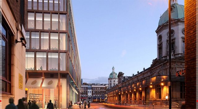 Crossrail Release Images Of Farringdon Building