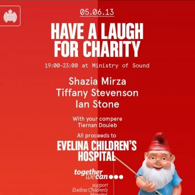 Tonight: Laughing For Evelina Children's Hospital
