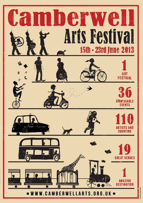 Celebrate Art in SE5 With The Camberwell Arts Festival