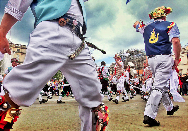 Morris dancers by Where the Art is