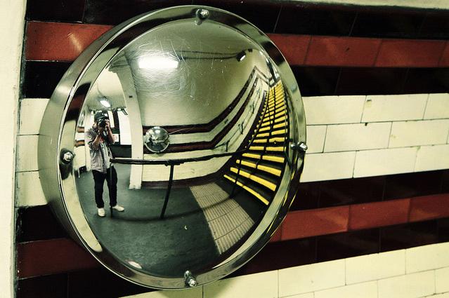Holloway Road tube, by Daniel Unitt