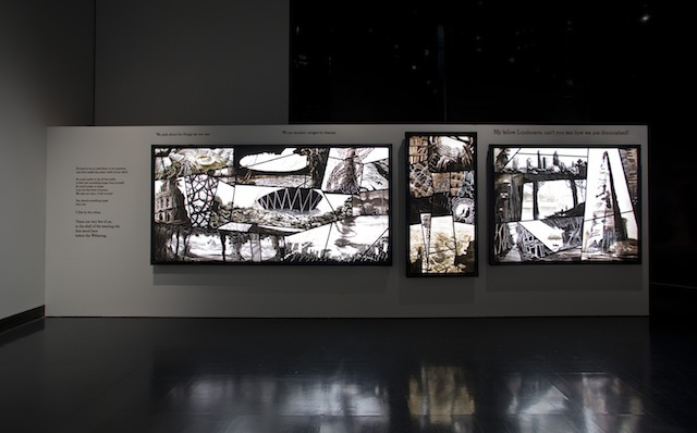 Installation image of Sky Arts Ignition: Memory Palace at the V&A © Victoria and Albert Museum, London