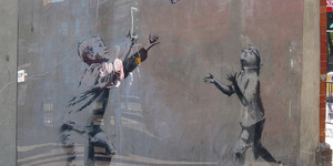 Banksy's No Ball Games Mural Removed From Tottenham