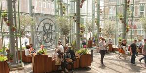 New Market Hall Opens At Borough Market