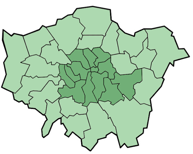 How The London Boroughs Got Their Names