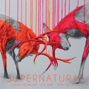 Louise Mcnaught's stags