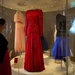 The case of dresses worn by Diana, Princess of Wales, in the final room of the Fashion Rules exhibition