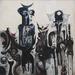 Ibrahim El-Salahi, Reborn Sounds of Childhood Dreams 1 1962-3 © Ibrahim El-Salahi