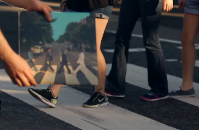 Abbey Road Zebra Crossing: A Lyrical Portrait