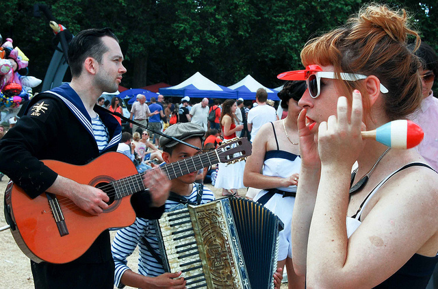 A Tour Of French London For Bastille Day