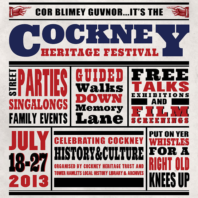Cockney Heritage Festival Comes To Tower Hamlets
