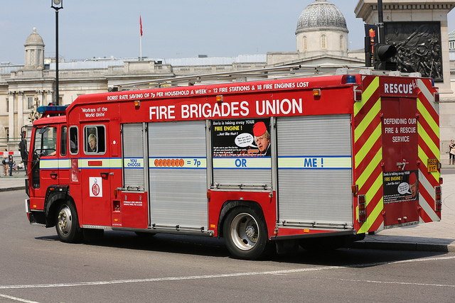 Boris 'Not Minded' To Give More Money To Stop Fire Service Cuts