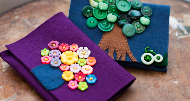 Cute as a button: some completed projects at Homemade London