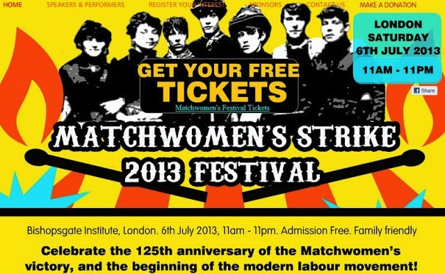 Matchwomen's Festival Celebrates Brave East End Workers