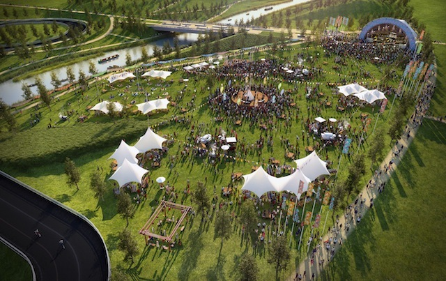 Welcome Back The Former Olympic Park With Open East Festival
