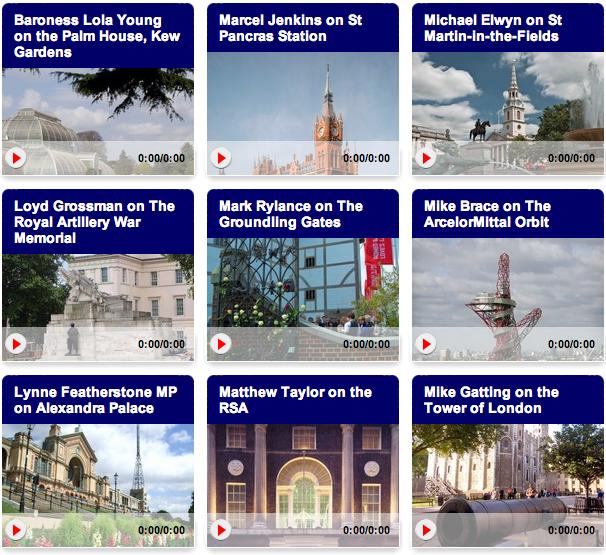 London Beyond Sight: A Wonderful Audio Guide To London