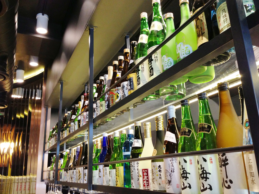Sake bar @ Shoryu Ramen, Soho