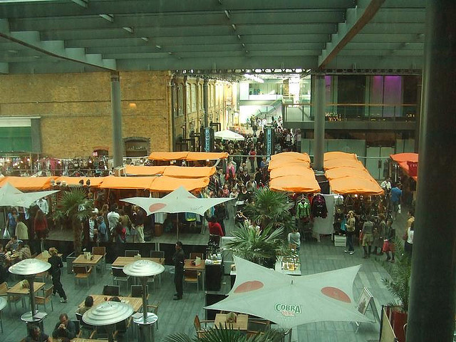Pop-up Tech Fair At Spitalfields Market