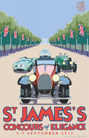 Concours Of Elegance @ St James's And Marlborough House