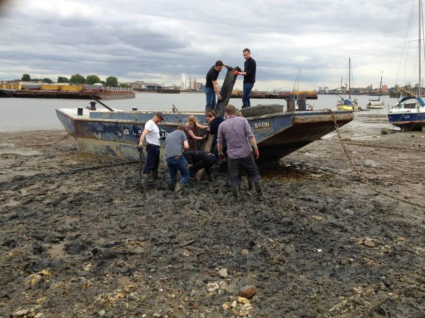 Glorious Mud Times With Thames21