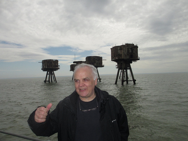Alone, For A Month, On An Abandoned Thames Estuary Fort