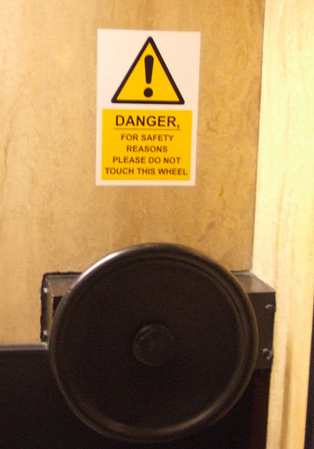 Ten London Notices That Make Us A Bit Nervous
