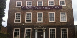 Squatters Set Up In Hackney Mansion And Bushy Park Pub