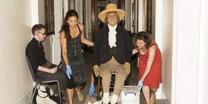 Long-Dead Jeremy Bentham Attends UCL Council Meeting