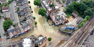 Herne Hill Flooded After Water Main Bursts