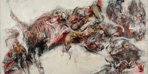 Frenetic And Grisly Art In The Agony Of Actaeon