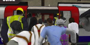 iPad Game Lets You Punch Your Way Off A Tube Train