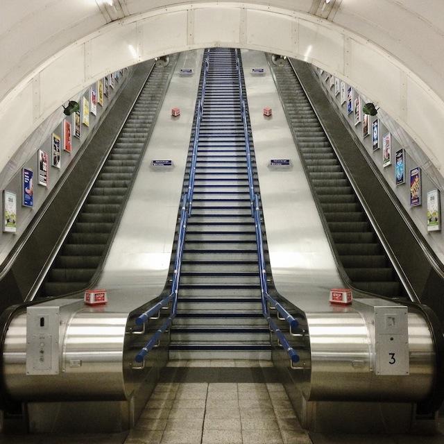 01 Shiny. Charing Cross. (c) @MissUnderground