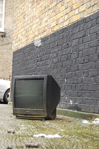 Trash TV by Rob Oxley via the londonist flickrpool